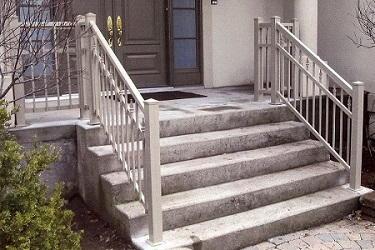 rampe de balcon rampe de patio rampe en aluminium. Black Bedroom Furniture Sets. Home Design Ideas